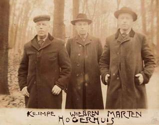gebroeders Keimpe, Wybren en Marten Hogerhuis