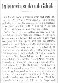 Petrus Hendrikus Antonius Schröder
